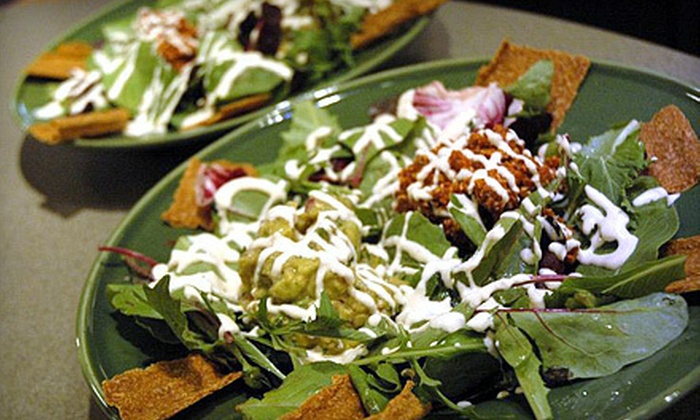 Raw Vegan Cafe - Lockport: $20 for $40 Off Your Bill at Raw Vegan Cafe