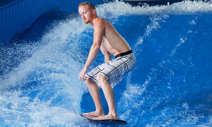 Aqua Shop - Plano: $20 for Two 30-Minute Indoor Surf-Wave-Machine Sessions at Aqua Shop ($40 Value)