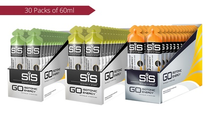 $49.95 Packs of GO Isotonic Energy Gels 60ml in Choice of Flavour Don't Pay $105