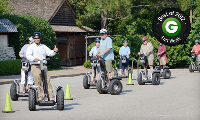 Segway Fort Worth - West 7th & Trinity Trails Tour: 90-Minute Guided Segway Tour for One, Two, or Four from Segway Fort Worth (Up to 56% Off)