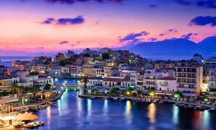 ✈ Creta: volo A/R e fino a 7 notti in hotel con mezza pensione per 1 persona al Cretan Village Hotel 4*