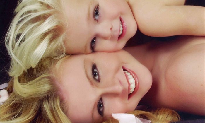 Glamour Shots - Victoria: $20 for Summer Fun Photo Package for Two   at Glamour Shots ($239.80 Value)