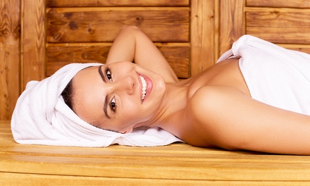 Massages or Sauna Sessions at EcoHealth Wellness Center and Detox Spa (Up to 52% Off). Three Options Available.