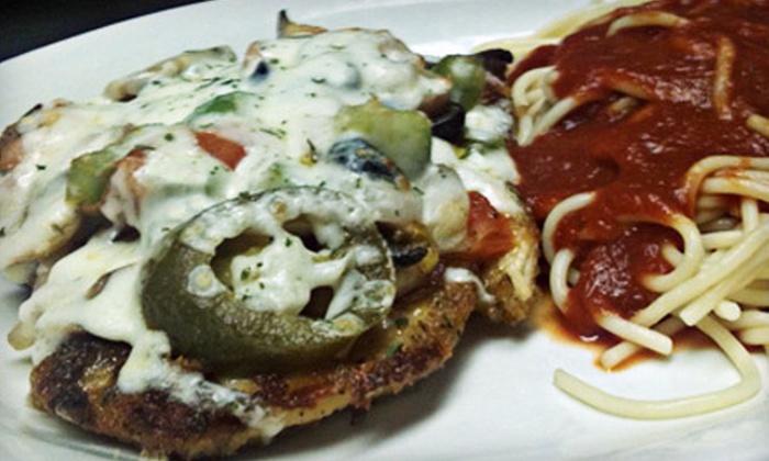 Capparelli's Italian Food & Pizza - Pecan Valley: $15 for $30 Worth of Italian Fare at Capparelli's Italian Food & Pizza