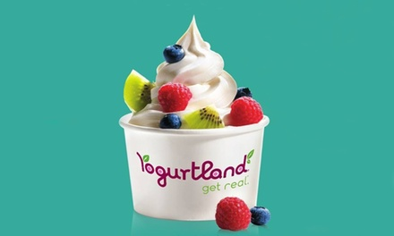 $15 for Five Groupons, Each Good for $6 Worth of Frozen Yogurt at Yogurtland ($30 Total Value)