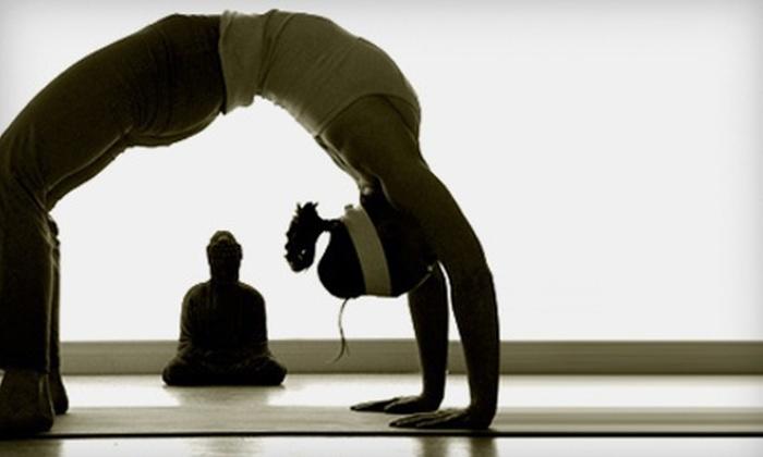 Hot 8 Yoga - Multiple Locations: $25 for Three Hot-Yoga Classes at Hot 8 Yoga ($75 Value)