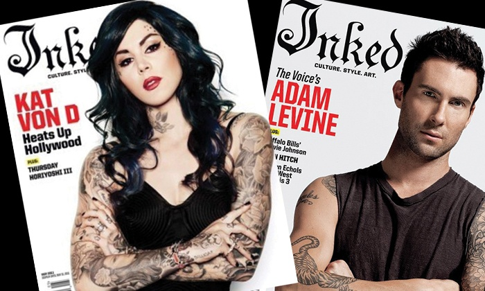 "Inked Magazine - Midtown South Central: Tattoo Magazine Subscription Packages from ""Inked Magazine"" (Half Off). Six Options Available."