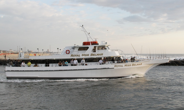 Royal Miss Belmar - Belmar: 4.5-Hour Deep-Sea-Fishing Trip for One or Two with Royal Miss Belmar (Up to 46% Off)