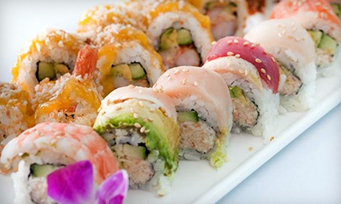 Ponzu Sushi & Grill - Aksarben/Elmwood Park: $15 for $30 Worth of Internationally Inspired Seafood at Ponzu Sushi & Grill