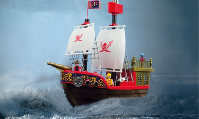 Groupon Goods Global GmbH: Toy Castle Playset or Pirate Ship Playset for £24.95 With Free Delivery (50% Off)