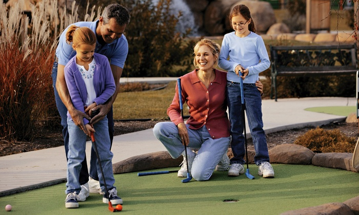 Malt-Tees Malts and Mini-Golf - Richfield: $18 for Mini Golf with Malt Shop Credit for Up to Four at Malt-Tees Mini Golf (Up to $38 Value)