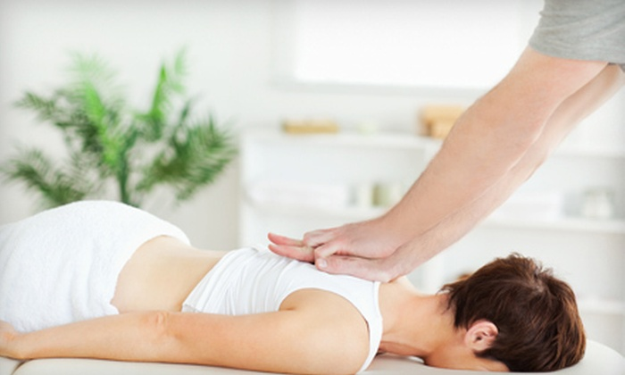 100% Chiropractic - Multiple Locations: One or Four Chiropractic Adjustments and Massages at 100% Chiropractic (Up to 80% Off)