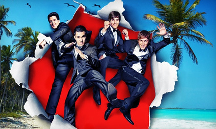 Big Time Summer Tour with Big Time Rush - Virginia Beach: One Lawn Ticket to See Big Time Rush at Farm Bureau Live at Virginia Beach  on August 21 at 7 p.m. (Up to $25 Value)