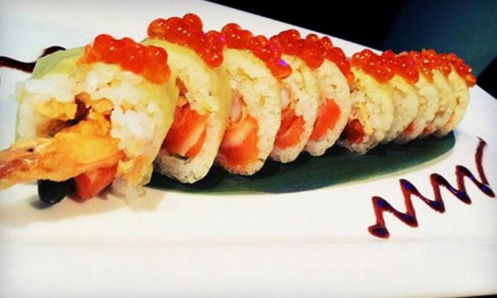 Yakitori Sake House - Royal Palm Place: $17 for $34 Worth of Sushi and Japanese Dinner at Yakitori Sake House