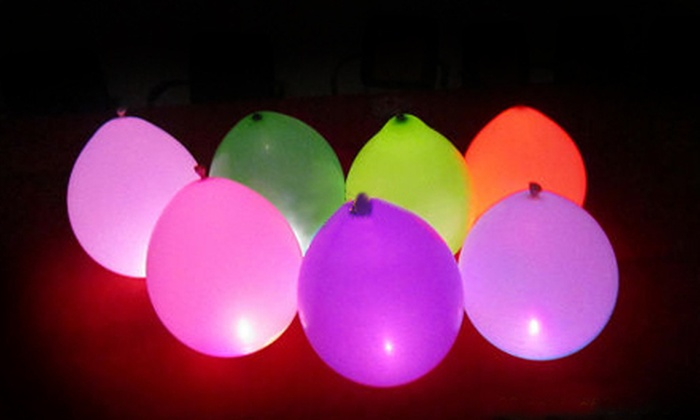 15 For A 10 Pack Of Led Light Up Balloons Groupon