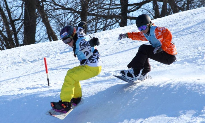 Raging Buffalo - Raging Buffalo Snowboard Park: Snowboarding or Skiing Package at Raging Buffalo (Up to 68% Off). Four Options Available.