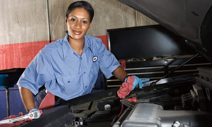 Just in Time Auto Performance - Hoffner Indus Park: $59 for Oil Change, Tire Rotation, Safety and Brake Inspection at Just in Time Auto Performance ($124.96)