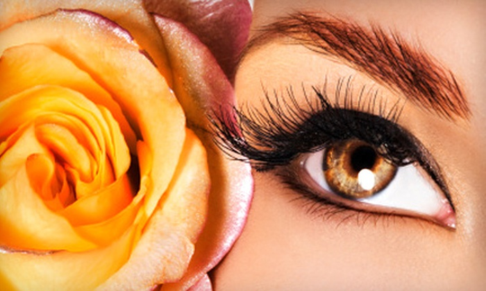 Mega Hair Elite - Downtown Everett: Full Set of Eyelash Extensions or Three Fills at Mega Hair Elite (Up to 54% Off)