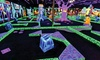 Monster Mini Golf - Union: $18 for Four Rounds of Indoor Miniature Golf at Monster Mini Golf (Up to $39.96 Value)