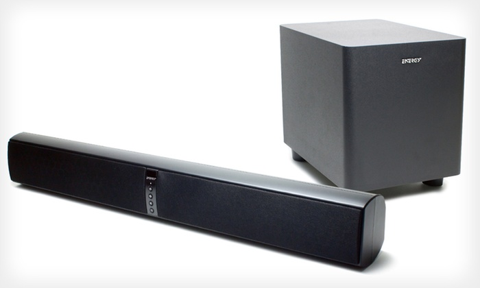 Energy Power 2.1 Soundbars: Energy 2.1 Power Two-Way Soundbar with Built-in or Wireless Subwoofer (Up to 25% Off). Free Shipping and Free Returns.
