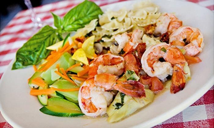 La Strada - Belmont Shore: Italian Food at La Strada (Half Off). Two Options Available.