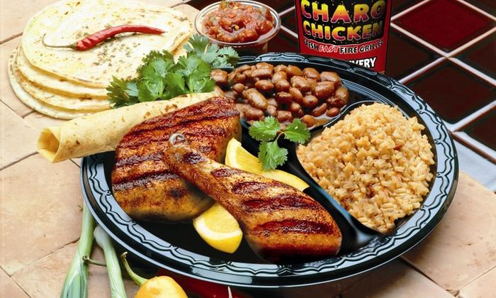 Charo Chicken - Charo Chicken: Mexican-Influenced Cuisine at Charo Chicken (47% Off)
