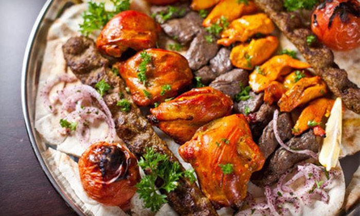 middle eastern cuisine ali baba kabab groupon