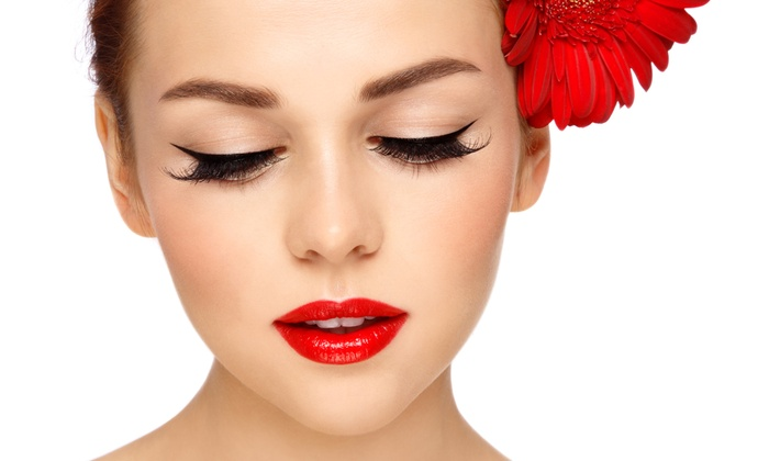 Lash Lounge LA - West Adams: Full Set of Faux Mink Eyelash Extensions at Lash Lounge LA (Up to 47% Off)
