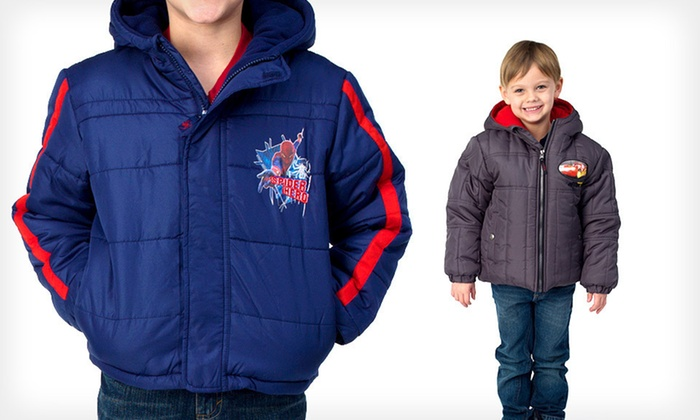 Boys' Disney and Marvel Jackets: $17 for a Boys' Disney or Marvel Jacket ($59.99 List Price). 12 Options Available. Free Shipping.