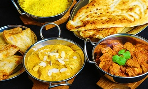 Bangla Lounge: Two-Course Indian Dish for Two or Four at Bangla Lounge (54% Off)