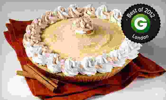 Marble Slab Creamery - Richmond Row: 1 Butter Pecan or Apple Pie, 5 Ice-Cream Cones, or 5 Half-Litres of Ice Cream at Marble Slab Creamery (Up to 52% Off)