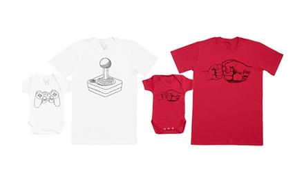 2er-Set T-Shirt und Strampler :16,99 €