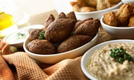 Vegetarisches 3-Gänge-Orient-Menü für zwei oder vier Personen bei Zimt & Mehl (bis zu 58% sparen*)