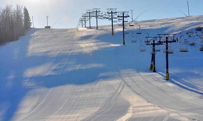 Rabbit Hill Snow Resort -  Rabbit Hill Snow Resort: Weekday or Weekend Lift Tickets with Optional Ski or Snowboard Rental for Two at Rabbit Hill Snow Resort (Up to 55% Off)