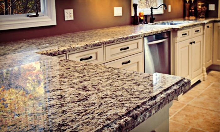DFW Stoneworks - Plano: Custom-Countertop Installation and Stone Services from DFW Stoneworks (Half Off). Three Options Available.