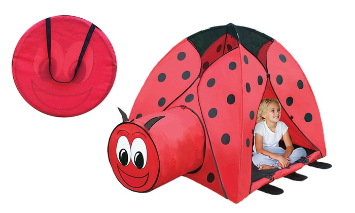 Ladybug Play Tent with Tunnel and Carry Case  sc 1 st  Groupon & Ladybug Play Tent with Tunnel and Carry Case | Groupon