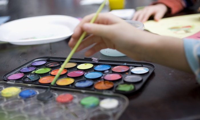 Creative Martini & Paint Club - Multiple Locations: Painting Class for One, Two, or Four at Creative Martini & Paint Club (Up to 67% Off)