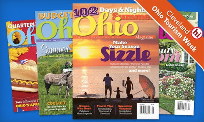 """Ohio Magazine"" - Cleveland: Two- or Three-Year Subscription to ""Ohio Magazine"" (Half Off)"