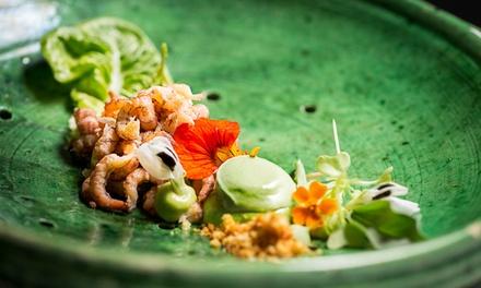 2 étoiles Michelin: profitez d'un menu à trois plats dans le restaurant étoilé au Michelin, De Kromme Watergang