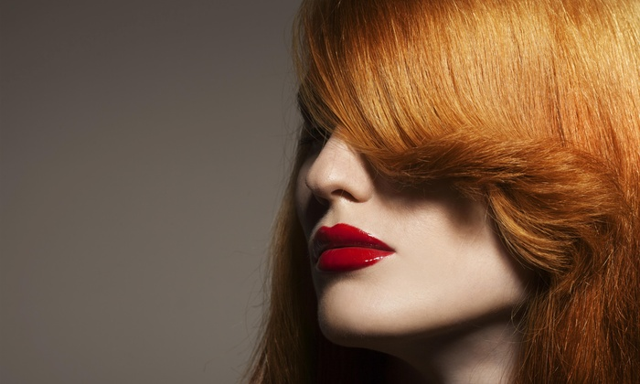 Ageless Salon And Spa - Eiber: Color or Partial Highlights with Blow-Dry from Ageless Salon and Spa (55% Off)