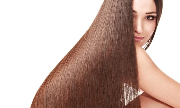 Purple Sage Salon  - South Scottsdale: Brazilian Blowout with Optional Haircut from Purple Sage Salon (Up to 59% Off)