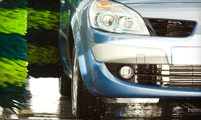 Valet Car Wash - Multiple Locations: $25 for Five Express Plus Car Washes at Valet Car Wash (Up to $50 Value)