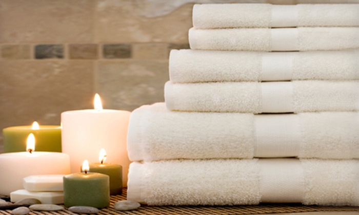 Luxury Egyptian-Cotton Towel Set: $29 for a Luxury Egyptian-Cotton Dobby Towel Set ($80 List Price). Five Colors Available.