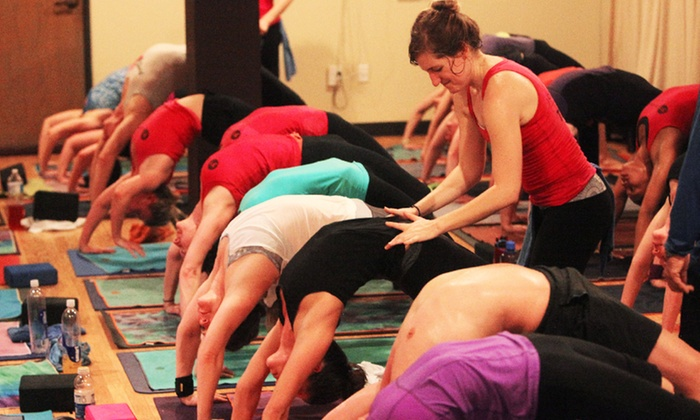 YogaSport - Oak Lawn: $35 for 30 Days of Unlimited Hot Power Yoga at YogaSport ($150 Value)