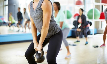 image for Four Weeks of Boot Camp, Torquefit, or TRX Kettlebell or 10 Boot Camp Classes at <strong>CrossFit</strong> 1080 (Up to 77% Off)