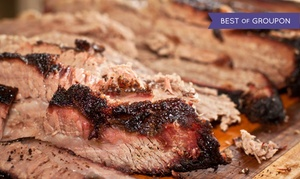 Oklahoma Station BBQ: Barbecue Dinner for One, Two, or Four at Oklahoma Station BBQ (43% Off)