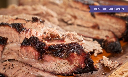 Barbecue Dinner for One, Two, or Four at Oklahoma Station BBQ (43% Off)