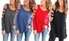 Leo Rosi Women's Long-Sleeve Lexi Top: Leo Rosi Women's Long-Sleeve Lexi Top