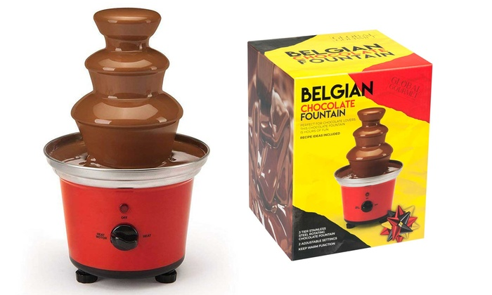Up To 9 Off Global Gourmet Chocolate Fountain Groupon