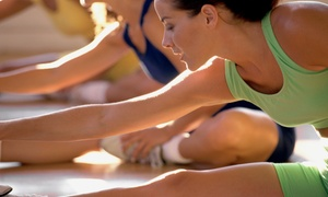 The Court Club: 5 or 10 Group Fitness Classes at The Court Club (Up to 59% Off)